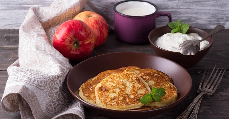 gluten-free breakfast pancackes