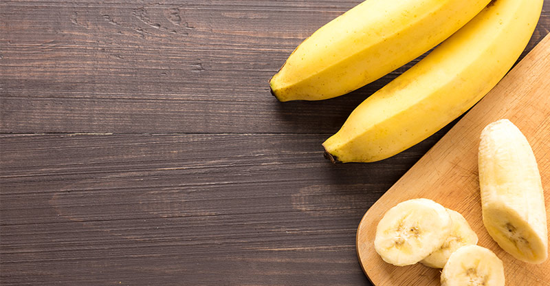 alkalize your body with bananas