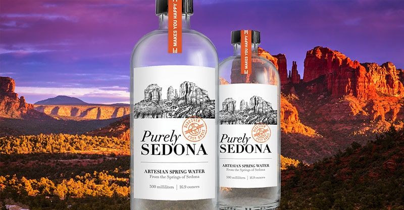 purely sedona water review