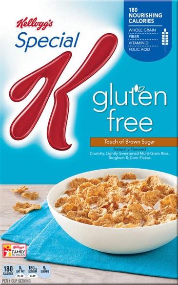 kellogg's special k gluten-free cereal