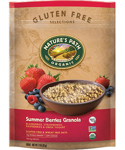 nature's path gluten-free cereal