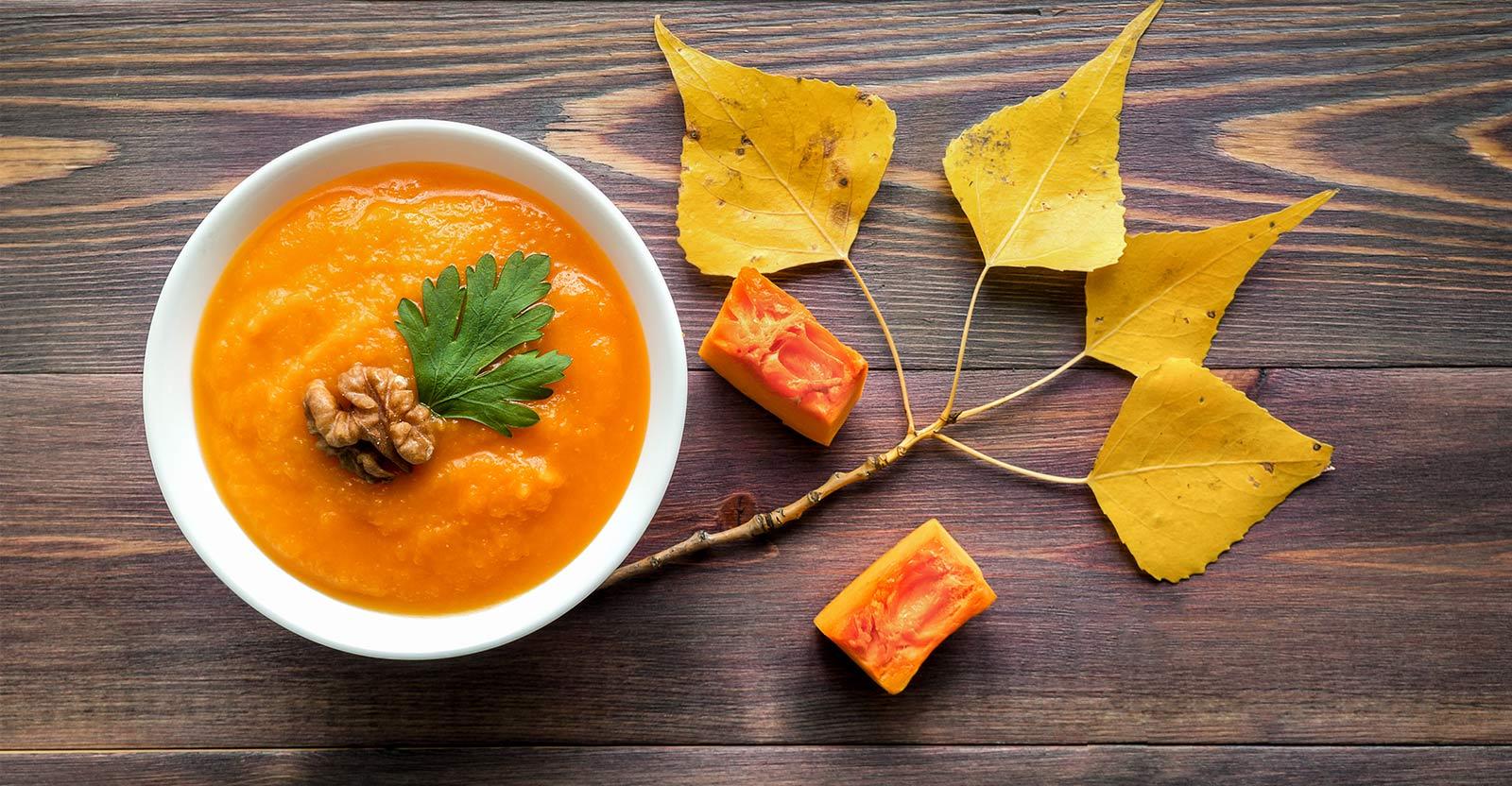 gluten-free carrot soup