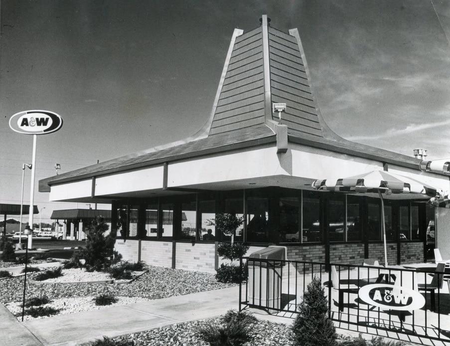 A&W Restaurant 1973