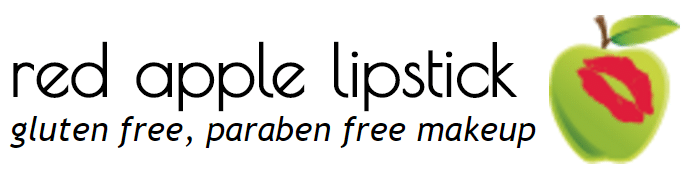red apple lipstick gluten-free makeup