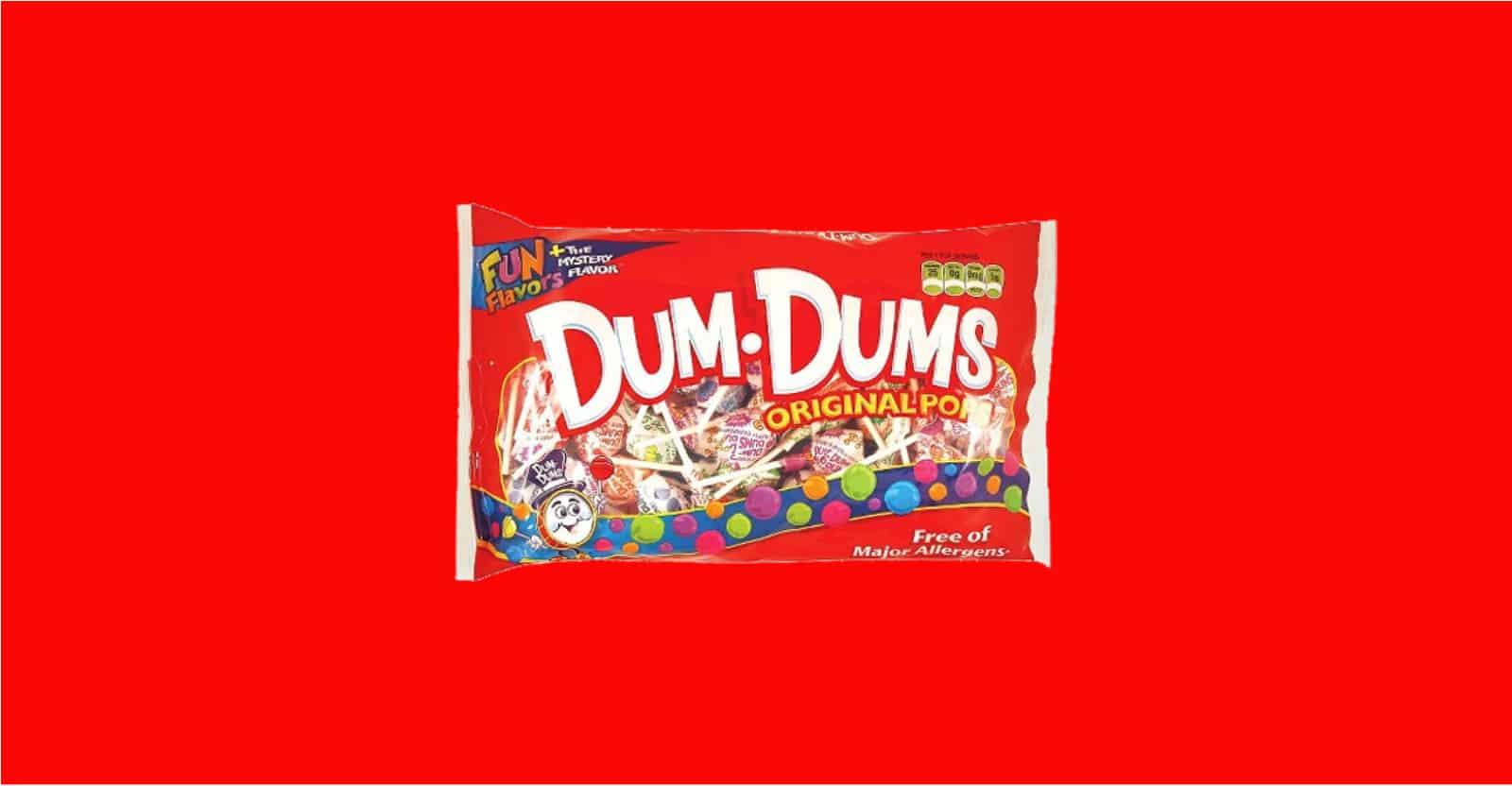 are dum dums gluten-free