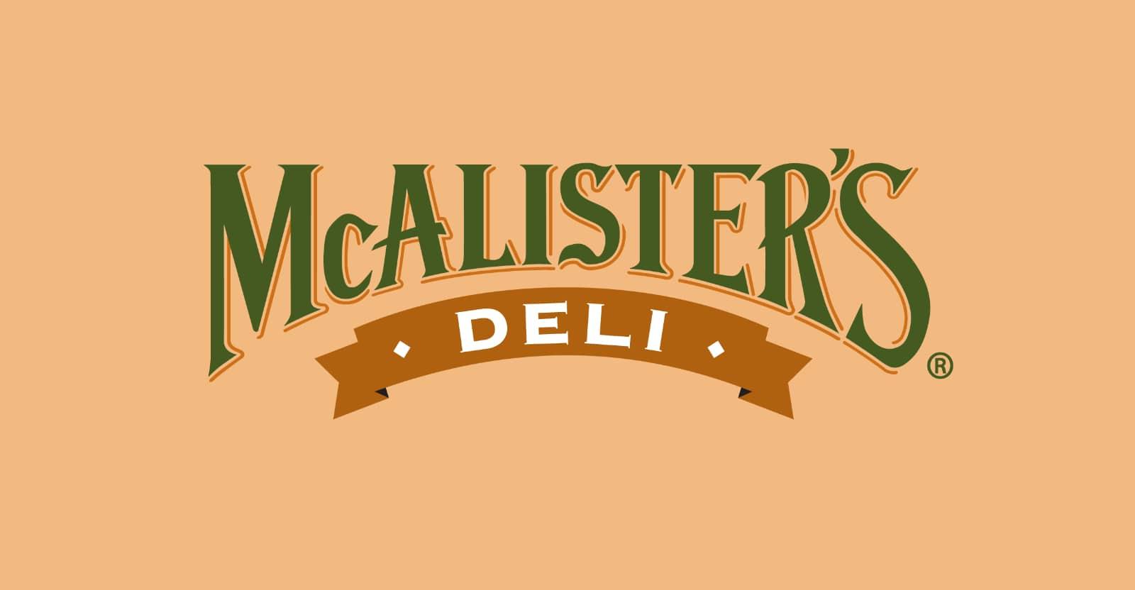 McAlister's Deli Gluten-Free Menu